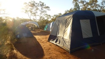 Home sweet home while working at the Semi-Arid Fieldsite, NSW